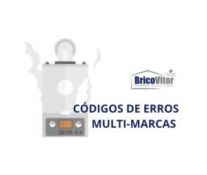 Esquentadores Multi-Marcas - Código de Erros
